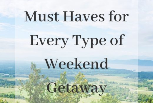 Must Haves for Every Type of Weekend Getaway | www.withgraceandbeauty.com