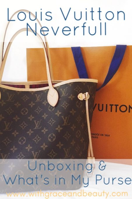 Louis Vuitton Neverfull Unboxing | www.withgraceandbeauty.com